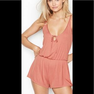 NWT Victoria's Secret Keyhole Ribbed Romper
